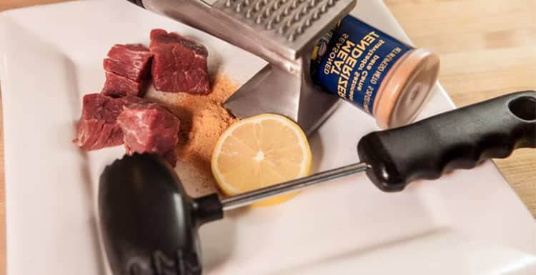 how to use meat tenderizer