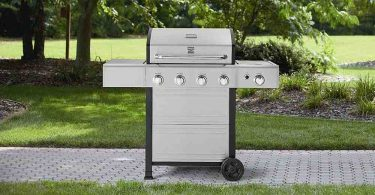Kenmore 4 Burner Gas Grill Review